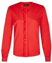 Daniel Hechter Ruffle Blouse, Blusa Donna, Rosso (Chilli 320), 40