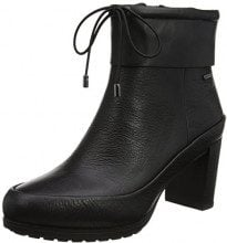 Clarks Londonrain GTX, Stivali Donna, Nero (Black Leather), 38 EU