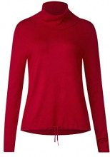 Street One 300726, Maglione Donna, Rot (Pure Red 11496), 48
