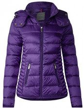 Street One 201161 Tilda, Cappotto Donna, Violett (Rich Purple 11367), 44