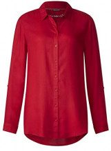 Street One 341141, Blusa Donna, Rot (Pure Red 11496), 40