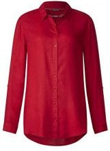 Street One 341141, Blusa Donna, Rot (Pure Red 11496), 52