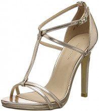 New Look Sanantonio 2, Scarpe con Cinturino alla Caviglia Donna, Oro (Rose Gold 94), 39 EU