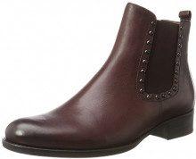 Gabor Shoes Fashion, Stivali Donna, Rosso (25 Merlot Effekt), 37 EU