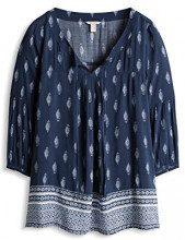 ESPRIT 076ee1f013, Camicia Donna, Blu (NAVY 2 401), 38