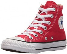 Converse All Star Hi, Sneaker Unisex – Adulto, Rosso (Varsity Red), 45 EU