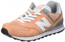 New Balance 574, Sneaker Donna, Rosa (Peach), 36.5 EU
