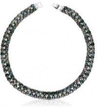 Collana plastron - perle di acqua dolce - L: 40 cm