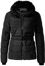 Cecil 201132, Cappotto Donna, Nero (Black 10001), Small