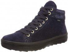Legero Mira, Sneaker a Collo Alto Donna, Blu (Blue 82), 37 EU