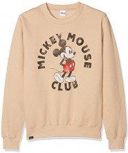 Disney Mickey Club, Felpa Donna, Beige (Nude Nud), 48 (Taglia Produttore:XL)