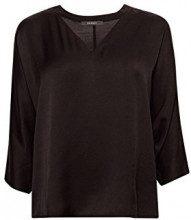 ESPRIT Collection 048eo1f002, Camicia Donna, Nero (Black 001), XX-Small