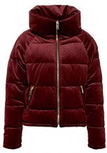 edc by Esprit 118cc1g006, Giacca Donna, Rosso (Bordeaux Red 600), Small