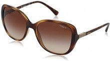 Vogue 0VO5154SB 194113 56, Occhiali da Sole Donna, Marrone (Top Brown/Opal Pink/Browngradient)