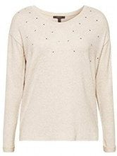 ESPRIT Collection 108eo1k005, Maglia a Maniche Lunghe Donna, (Light Beige 5 294), Medium