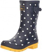 Stivali da pioggia Molly Welly da donna Joules, blu (Fnavspt francese della Marina), 39 EU