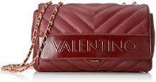Mario Valentino VBS0WO04, Borsa a tracolla Donna, Rosso (Rosso (Bordeaux 069)), 9x14x24 cm (B x H x T)