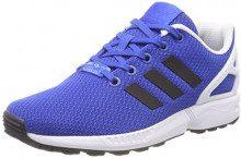 Adidas ZX Flux Bb2408, Scarpe da Ginnastica Basse Unisex – Bambini, Blu (Blue/Core Black/Ftwr White), 38 EU