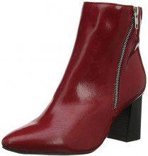 New Look Wide Foot ANI, Stivaletti Donna, Rosso (Bright Red 60), 37 EU