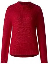 Street One 300695, Maglione Donna, Rot (Pure Red 11496), 46