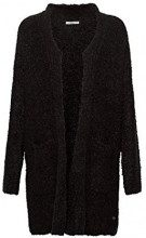 edc by Esprit 118cc1i006, Cardigan Donna, Nero (Black 001), Large