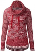 Cecil 300421, Maglione Donna, Rosso (Cranberry Red 31088), X-Large
