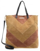 DAY BLOCK - Shopping bag - multi camel