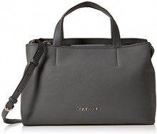 Calvin Klein Jeans Drive Tote - Borse a spalla Donna, Grigio (Steel Greystone), 13x25x40 cm (B x H T)