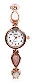 Time100 Orologio bracciale donna acciaio oro rosa con ceramica colorosa# W50127L.02A