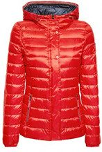 ESPRIT 128ee1g009, Giacca Donna, Rosso (Red 630), Small