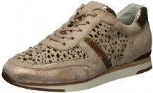 Gabor Shoes Fashion, Scarpe da Ginnastica Basse Donna, Beige (Rame/Skin (Strass), 37.5 EU (4.5 UK)