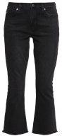 AUTH - Jeans a zampa - black
