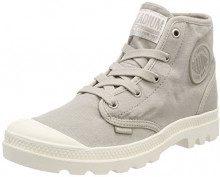 Palladium Us Pampa Hi F, Sneaker a Collo Alto Donna, Grigio (Gray Mist/Marshmallow K92), 38 EU