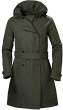 Helly Hansen W Welsey Trench Insulated, Giubbotto Donna, (Verde 482), Small