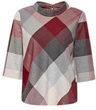 ESPRIT Collection 118eo1f025, Camicia Donna, Rosso, 44 (Taglia Produttore:)