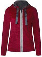 Cecil 252578, Cardigan Donna, Rosso (Cranberry Red 11088), XX-Large