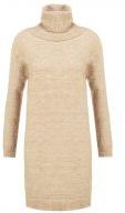 FLORA - Vestito di maglia - tan melange