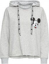 Felpa con cappuccio e stampa Mickey Mouse