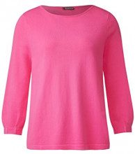 Street One 300569, Maglione Donna, Rosa (Flamingo Pink 11272), 42