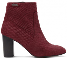 Boots in pelle scamosciata con tacco DYLAN
