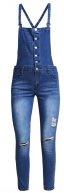 Salopette - bleu jean