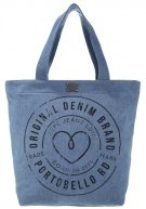 BRET  - Shopping bag - 000denim