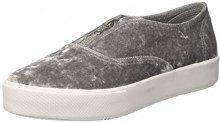 Jeffrey Campbell JCPROLLICK3VEL, Sneaker a Collo Basso Donna, Grigio (Velvet Grey), 39 EU