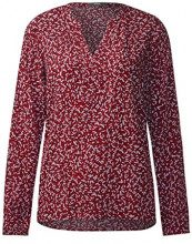 Cecil 340743, Blusa Donna, Rosso (Cranberry Red 31088), S