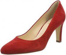 Högl 5-10 6502 4000, Scarpe con Tacco Donna, Rosso (Rot), 36 EU