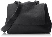 SwankySwans Kelly 2 In 1 Shoulder Handbag - Borse a spalla Donna, Nero (Black), 12x24x30 cm (W x H x L)
