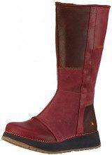 artHEATHROW - Stivali a metà polpaccio con imbottitura leggera Donna, Rosso, 42
