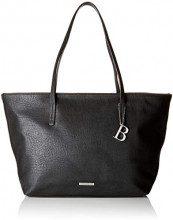 Bulaggi Lauren Shopper - Borse a spalla Donna, Nero (Schwarz), 28x10x47 cm (B x H T)