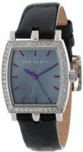 Ted Baker TE2011 - Orologio da polso da donna, cinturino in pelle colore nero