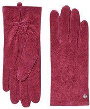 ESPRIT 116EA1R001, Guanti Donna, Rosso (Garnet Red), 7.5 (7 ½)